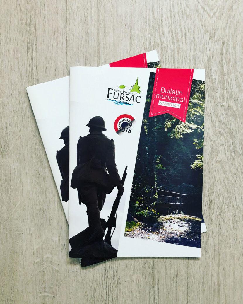 couverture bulletin municipal fursac