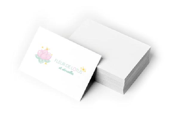 cartes fleur de lotus et etincelles
